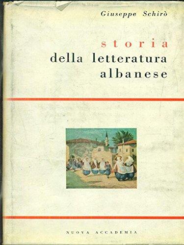 Storia della letteratura albanese