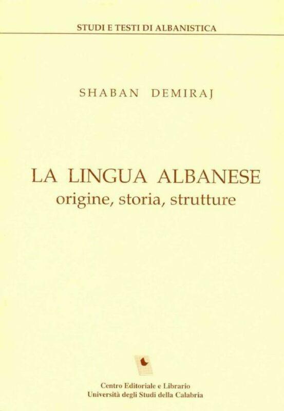 La lingua albanese