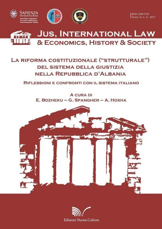 """La riforma costituzionale (""""strutturale"""") del sistema della giustizia nella Repubblica d'Albania"""