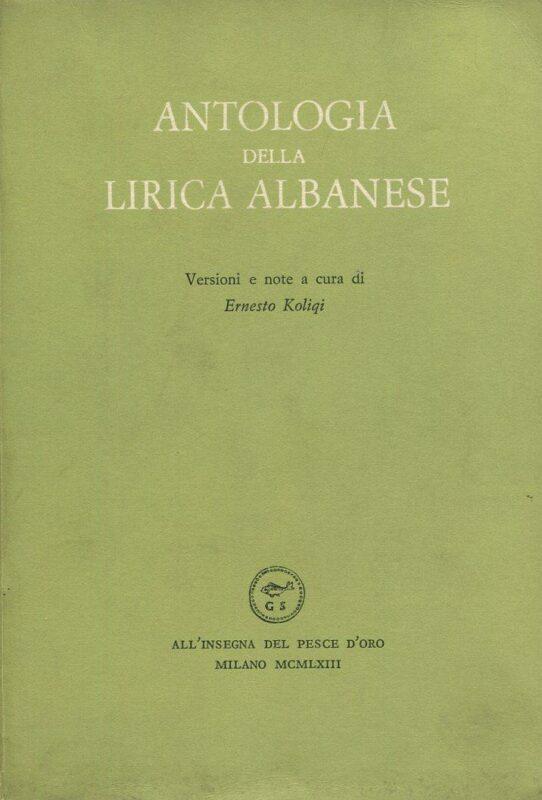 Antologia della lirica albanese