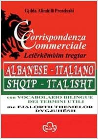 Corrispondenza commerciale-Letërkëmbim tregtar